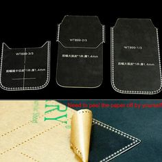 Phone Cases Acrylic Leather Templates Pattern for iPhone 6