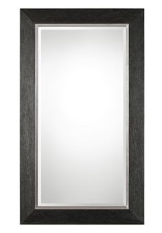 """9166 Creston Oversized Mottled Black Mirror by Uttermost * 42"""" x 72"""" * On Sale at FineHomeLamps.com * Free Shipping * Find the Perfect Mirror *"""