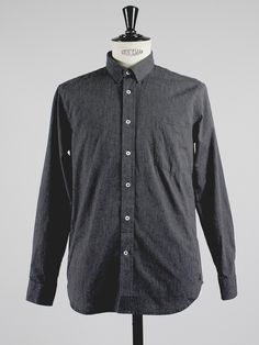 Shirt 1 in dark grey by  MONOKROM by APLACE