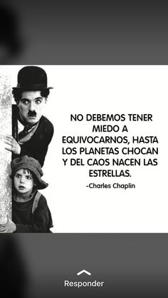 """No debemos tener miedo a equivocarnos; hasta los planetas chocan y del caos nacen las estrellas"""" . 🇬🇧 We should not be afraid of making mistakes; even planets collide and from chaos the stars are born """" . Magic Quotes, Wisdom Quotes, Life Quotes, Frank Kafka, Motivational Phrases, Inspirational Quotes, Pretty Quotes, Magic Words, Theory Of Life"""