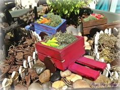 Hey, I found this really awesome Etsy listing at https://www.etsy.com/listing/152561497/fairy-garden-miniature-veggie-cart-fairy
