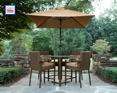 $449 - Dupage Resin Wicker 5pc High Dining Set: Dine Outdoors with Sears