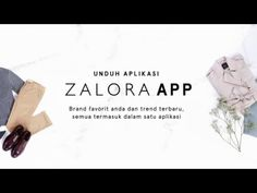 Promo ZALORA APP Android 2016 - YouTube