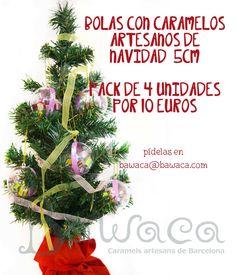 Bolas para decorar el árbol de Navidad! Pídelas en www.bawaca.com