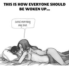 The best way to wake up…