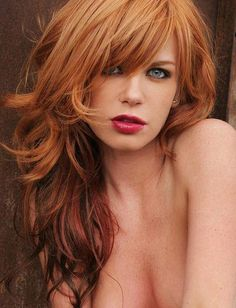 Attractive redhead babe gets picked — pic 1