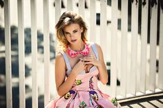 Justyna Banasiak – Konieczny for MissSpark Lily Pulitzer, Dancer, Actresses, Celebrities, Drawings, Shop, Fabric, People, Dress
