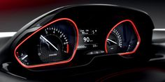Climb into the New 208's Peugeot i-Cockpit, with its compact steering wheel, head-up instrument panel and large touch screen