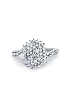 .50 CTW Diamond & White Gold Ring - Beyond the Rack