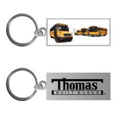 Thomas Built Buses - School Bus - KEY TAG  www.GardianAngelLLC.com