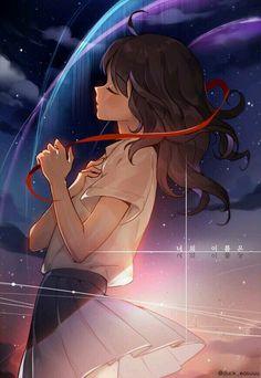 Anime music: The Best Anime Songs to Put on Your Playlist. Find the anime love songs, the best anime singers, anime sad songs, and all the best anime songs. Anime Love, Fan Art Anime, Anime Art Girl, Manga Art, Anime Girls, Anime Girl Crying, Musik Wallpaper, Mobile Wallpaper, Kawaii Anime