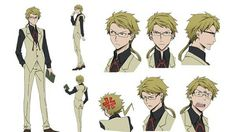 Bungo Stray Dogs Animes Character Design Sheets Unveiled