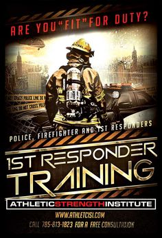 We offer custom workouts for Law Enforcement, Fire, and First Responders. We've…