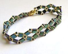 Double Zig-Zag Tila Bracelet