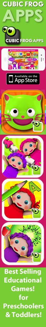 Cubic Frog Apps! Fun Educational iPhone