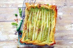 Aspergetaart - Recept - Allerhande Oven Recipes, Veggie Recipes, Real Food Recipes, Vegetarian Recipes, Cooking Recipes, Yummy Food, Cooking Stuff, Delicious Recipes, Alive And Cooking