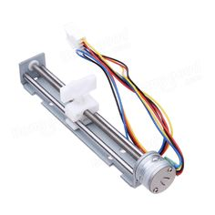 DC 4-9V Drive Stepper Motor Screw With Nut Slider 2 Phase 4 Wire Sale - Banggood.com