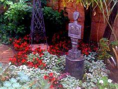 Garden Landscaping, Garden Design, Gardens, Fire, Landscape, Front Yard Landscaping, Scenery, Outdoor Gardens, Landscape Designs