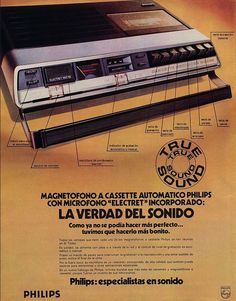 Vintage Advertisements, Vintage Ads, Radios, Cassette, Advertising, Retro, Movie Posters, Tvs, Multimedia