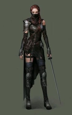 Tagged with art, fantasy, dnd, roleplay, dungeons and dragons; Fantasy Females (various artists) Dnd Characters, Fantasy Characters, Female Characters, Female Villains, Dungeons And Dragons Characters, Fantasy Armor, Medieval Fantasy, Fantasy Female Warrior, Dark Warrior