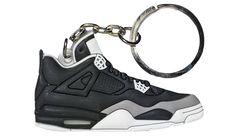 e14e8de54f7fbb Nike Jordan 4 IV Black Grey