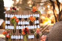 creative-wedding-reception-ideas-escort-cards-display