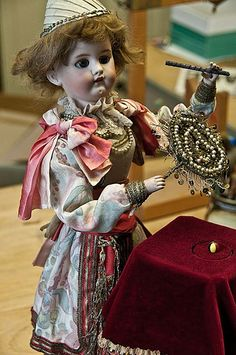 Automata. Fine art dolls, figurative artist art dolls