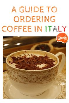 Italians do more than espressos and cappuccinos, here's a guide to ordering coffee in Italy. From travel expert Rachelle Lucas of TheTravelBite.com. ~ http://thetravelbite.com