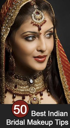 Indian Bridal Makeup Tips: Here are some simple Indian wedding beauty and bridal make up tips that you can follow on your special day.