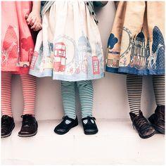Poppy Children - Story around the dress hem
