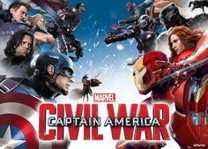 Captain America: Civil War – le formazioni al completo nel nuovo poster!