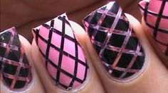 Cute nail Designs For beginners - easy DIY Video tutorial Polish ...