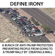 Oh, the irony.