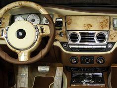 Rolls Royce Ghost Interior Mansory