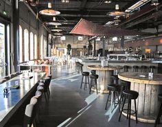 planos low cost: Restaurante con bajo coste. / Restaurant with small budget. Trucos para lograr el estilo #dirtychic más #lowcost