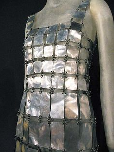 Dress  Paco Rabanne (French, born Spain, 1934)  Date: 1967 Culture: French Medium: metal