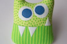 Tooth Fairy Pillow Personalized Monster by MyCreativeFrenzy