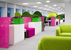 """Candy Crush offices designed as a """"kingdom"""""""