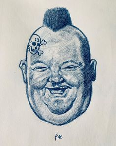 Pauli Maukonen (pale moon gpx) Psycho Ollie #oliverhardy #caricature #drawing #illustration #sketch #psychobilly #punk #piirustus #karikatyyri #luonnos #kuvitus Pale Moon, Caricature Drawing, Psychobilly, Sketch, Punk, Graphics, Drawings, Illustration, Art