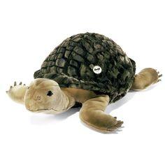 черепаха мягкая игрушка / Steiff 068478 SLO SCHILDKRÖTE 70 GRUEN/GEF