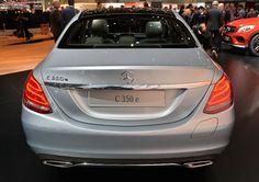 Mercedes Classe C 350 e : l'hybride rechargeable à Genève