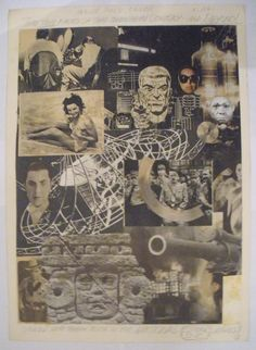 Collage by Jack Kirby
