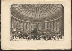 size: Giclee Print: The Vienna Exhibition, the Rotunda : Entertainment Classical Architecture, World's Fair, Vienna, Framed Artwork, Find Art, Giclee Print, Tapestry, Poster, Pictures