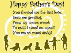 Happy Fathers Day Wishes From Daughter _ Fathers Day Messages from Daughter - New Happy Quotes Happy Fathers Day Status, Happy Fathers Day Message, Happy Fathers Day Greetings, Fathers Day Messages, Fathers Day Wishes, Happy Father Day Quotes, Father's Day Greetings, Happy Quotes, Top Quotes