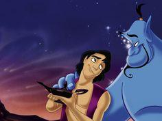Day 12: favourite non-animal sidekick - Genie (Aladdin)