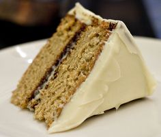 Maple Cake with Maple Syrup Frosting by mleese, via Flickr