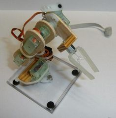 mini robotic arm | Let's Make Robots!