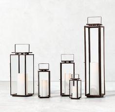 Amalfi Lantern - Weathered Bronze