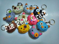 Cute Meow by Fia Felt Craft
