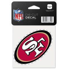 NFL - San Francisco 49ers 4x4 Die Cut Decal